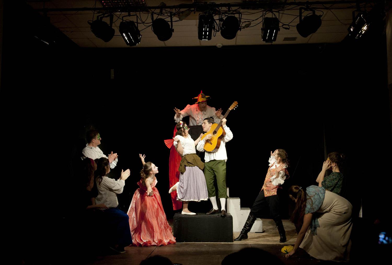 Педагогика дополнительного образования: режиссура театрализованных представлений и праздников