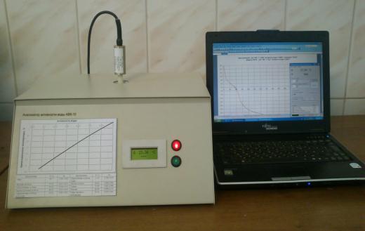 Анализатор активности воды АВК-10