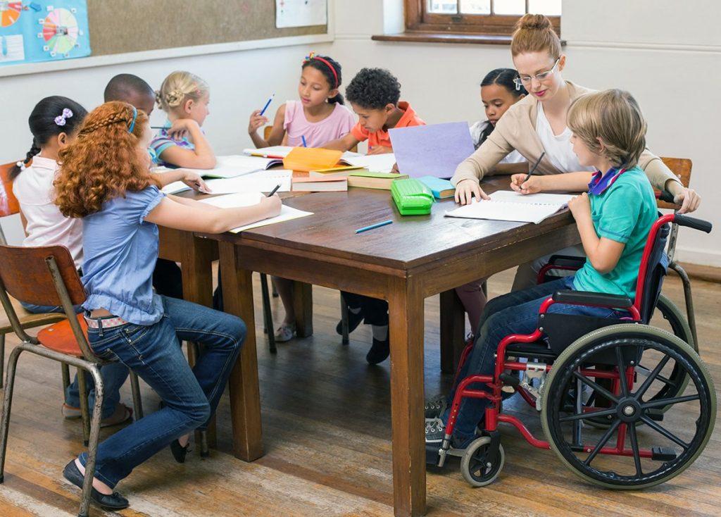 Организация образовательного процесса для обучения инвалидов и лиц с ОВЗ в образовательных организациях в условиях реализации ФГОС